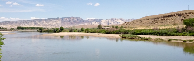 Green River at the crossing of U.S. 40